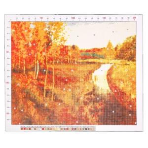 Канва «Левитан. Золотая осень» 47х39 #11908