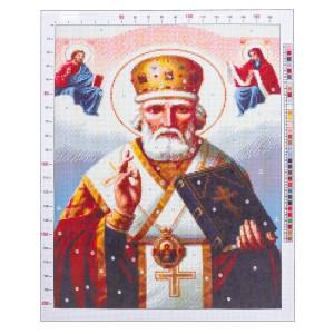Канва «Святитель Николай», 47х39 #11910