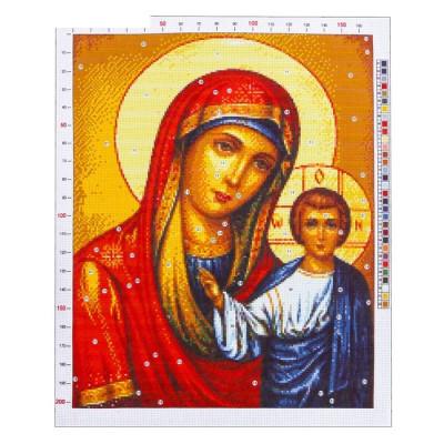 Канва «Казанская Божья Матерь», 47х39