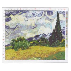 Канва для вышивания «Ван Гог. Рожь» 47х39 #11915