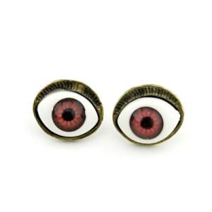 Серьги Яркие глаза #7638