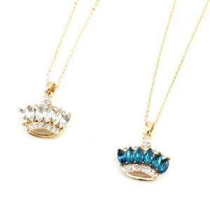 Кулон Корона с камнями #6870