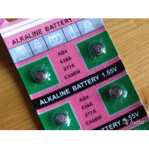Батарейка для часов AG4 1.55V Упаковка 10 шт #9967
